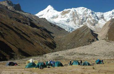 Ishinca Valley Basecamp