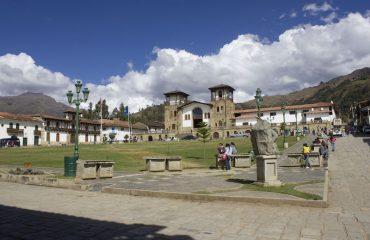 Chacas Dorfplatz