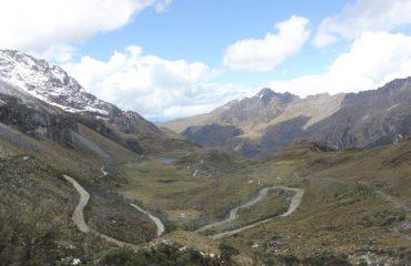 Aufwärts zum Portachuelo Pass