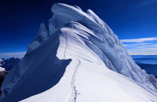 Chopicalqui Climb